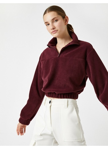 Koton Sweatshirt Bordo
